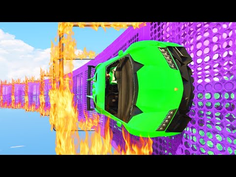 MILE HIGH WALLRIDE OF DEATH! (GTA 5 Funny Moments)