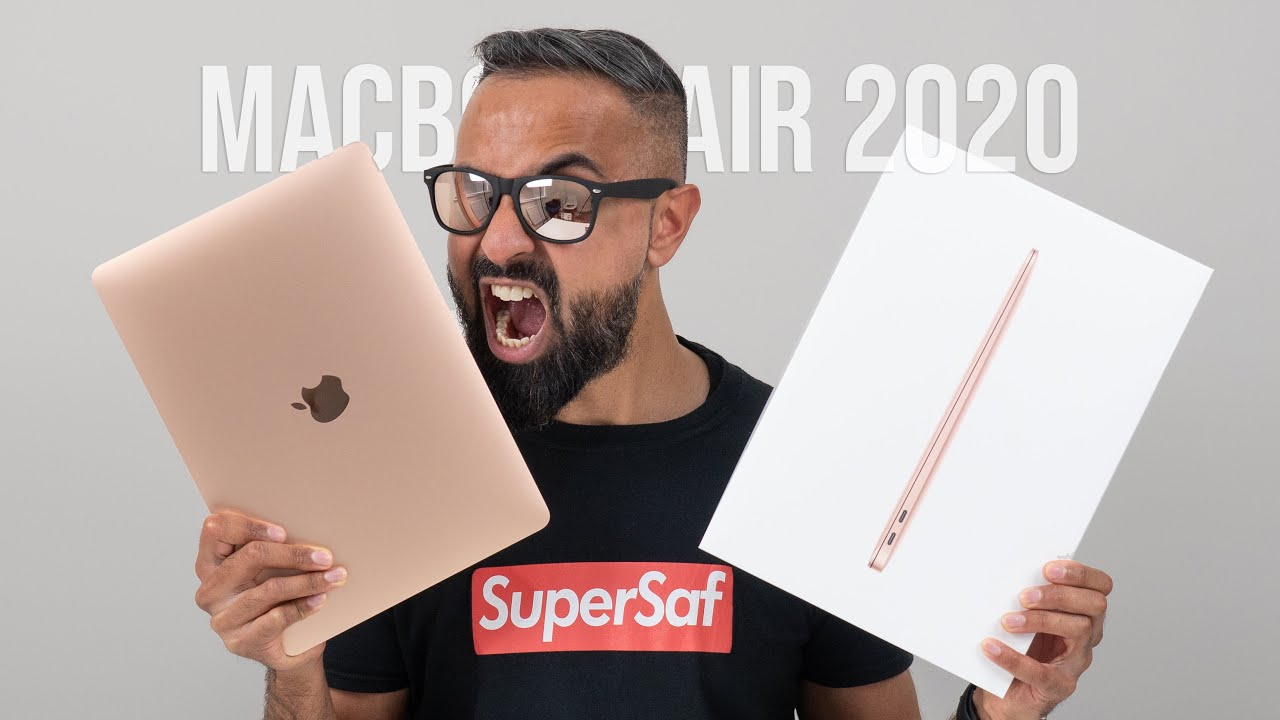2020 MacBook Air UNBOXING and First Impressions! - YouTube
