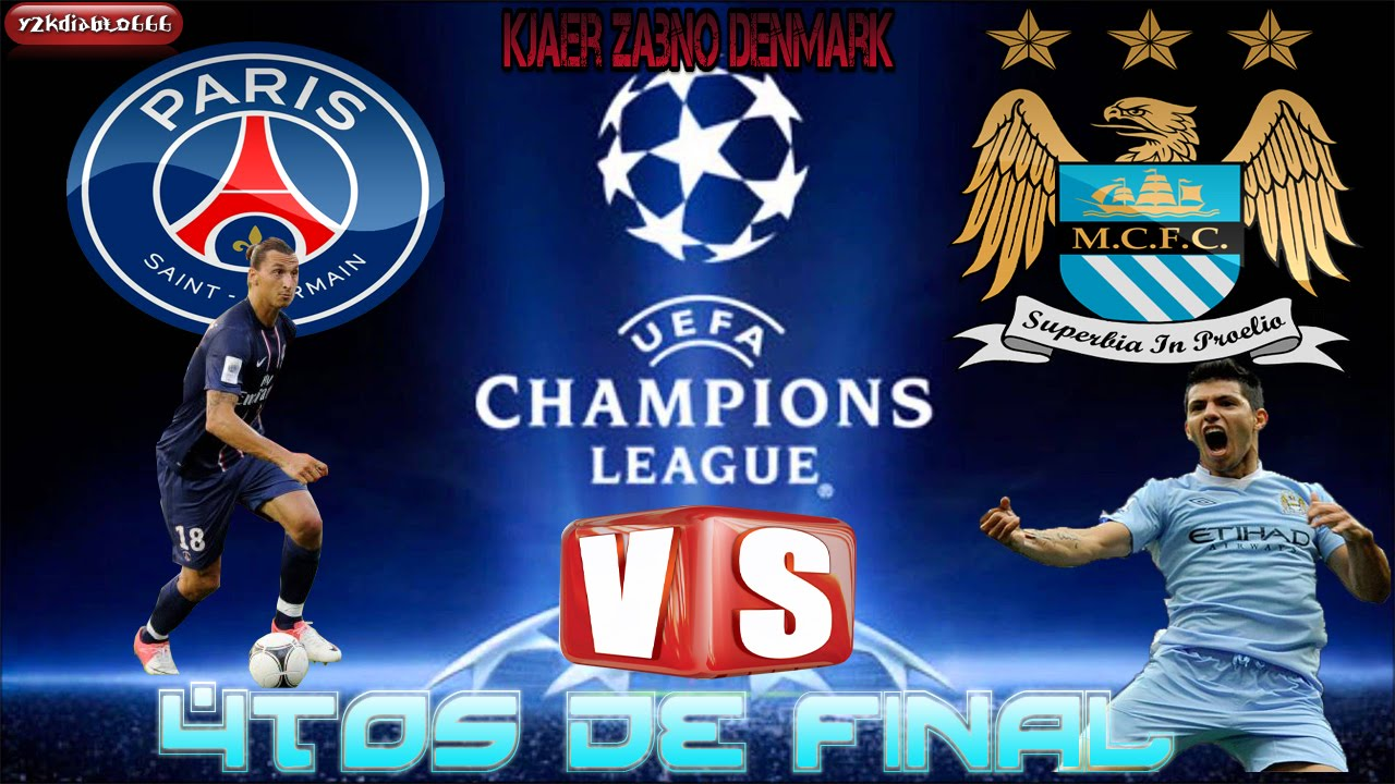 fifa 16 psg vs manchester city simulacion champions league 2016 cuartos de final youtube. Black Bedroom Furniture Sets. Home Design Ideas