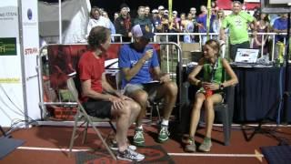 Kaci Lickteig, 2016 Western States 100 Champion, Finish-Line Interview