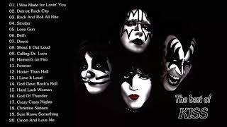 Kiss Greatest Hits Full Album - Best Of Kiss Playlist