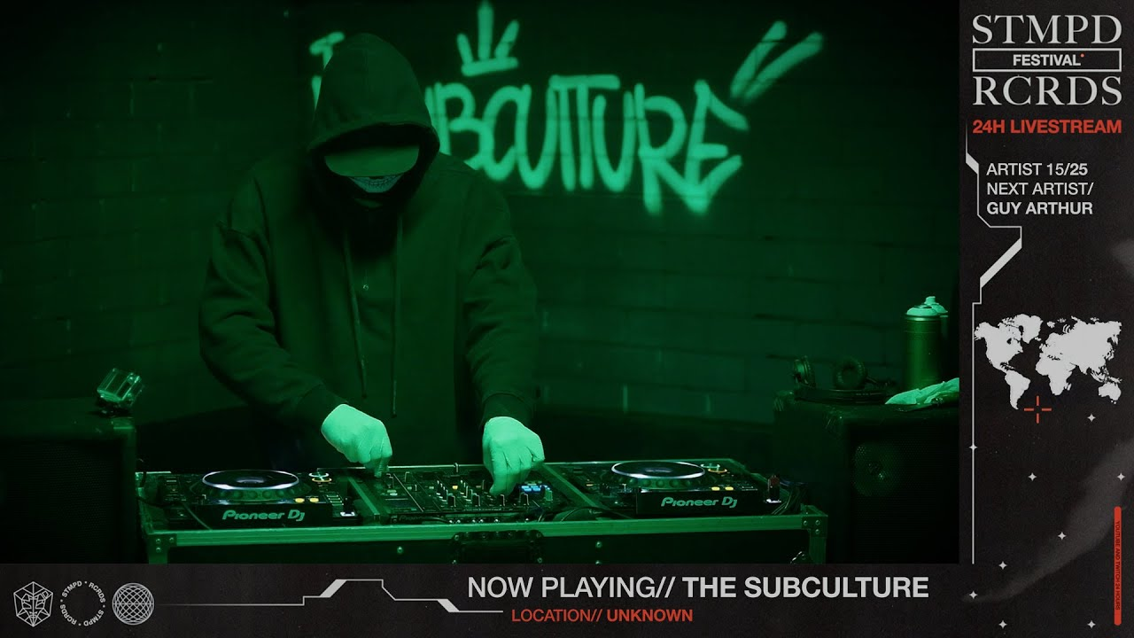 Download THE SUBCULTURE LIVE @ STMPD RCRDS FESTIVAL