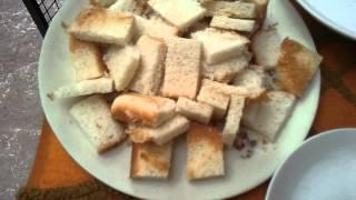 Bread Butterscotch Dessert Part 1