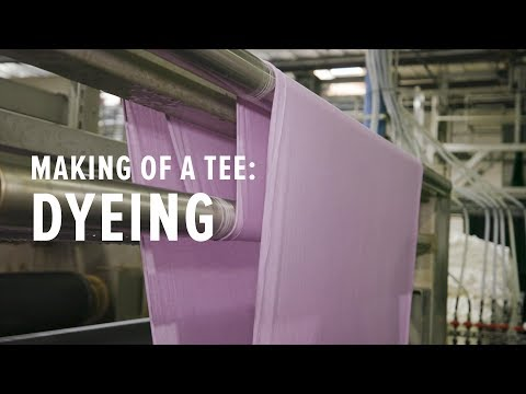 How Fabric is Dyed in a Massive and Eco-Friendly Way