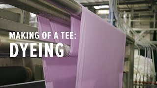 How Fabric is Dỳed in a Massive and Eco-Friendly Way
