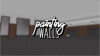 [ROBLOX] Studio: Chick Fil A V1 | Painting the walls!