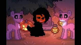 Pony Town КЛИП: spooky scary skeletons (remix)