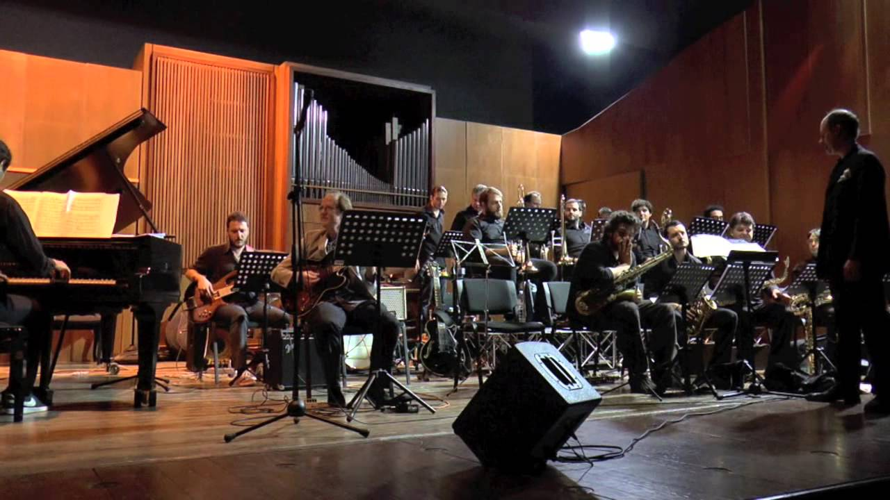 Big Band ConsPe+ Bill Boris. JazzConcert. July 25,2014