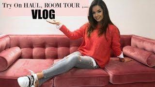 Try On Haul, Büro Roomtour, Verzweiflung ... I VLOG 2018 I tamtambeauty