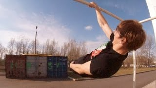 AWESOME STRENGHT! STREET WORKOUT, gymnastic. Andrey Kobelev thumbnail