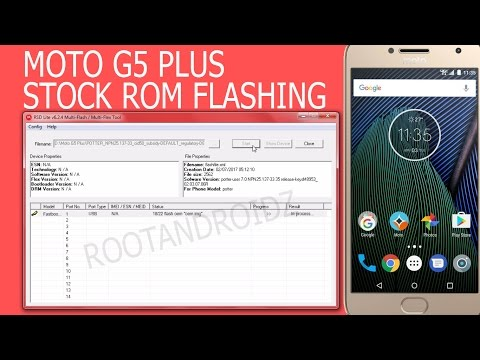 moto g5s plus stock rom