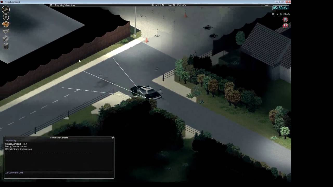 Project Zomboid Driving Cars Mod
