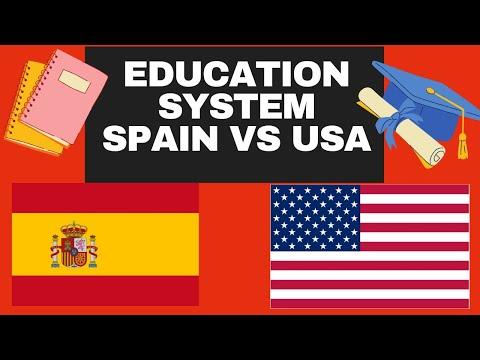 Schools In Spain Versus the United States