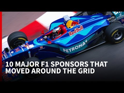 10 major F1 sponsors that moved around the grid