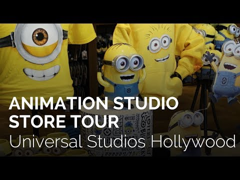 New Animation Studios Store at Universal Studios Hollywood