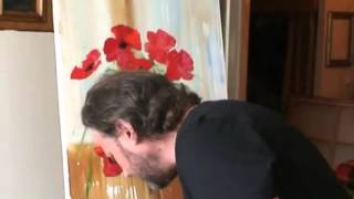 БЕСПЛАТНО  Полный видеоурок  Букет Маков  от И Сахарова
