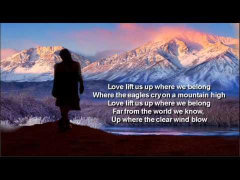 Up Where We Belong + Joe Cocker/Jennifer Warnes + Lyrics/HQ
