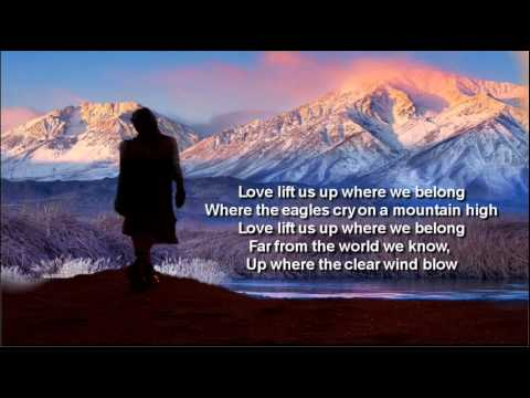 Up Where We Belong + Joe Cocker/Jennifer Warnes + Lyrics/HQ