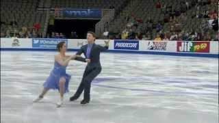 Danielle Gamelin and Alexander Gamelin, 2013 U.S. Figure Skating Championships, Short Dance
