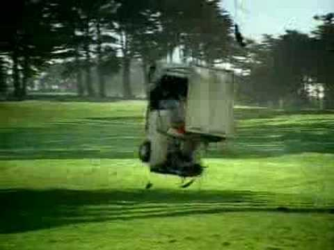 Funny Mountain Dew Golf Cart Ad