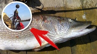 Ловля на стример - 6 ТРОФЕЙНЫХ ЩУК на СИКРЕТНУЮ приманку | FishingSib видео