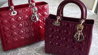 How to Spot a Fake Lady Dior Handbag Review My Christian Dior Bag