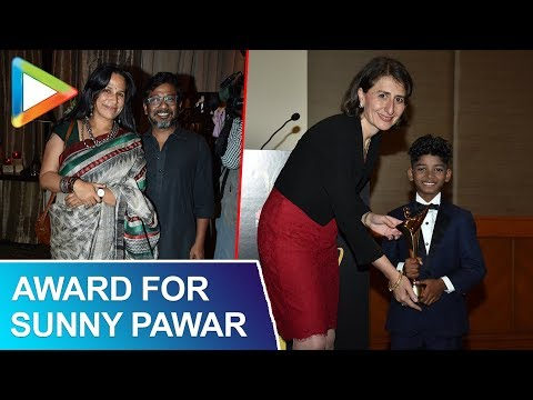 Australian Academy Of Cinema And Television Arts Felicitating SUNNY PAWAR FOR MOVIE LION
