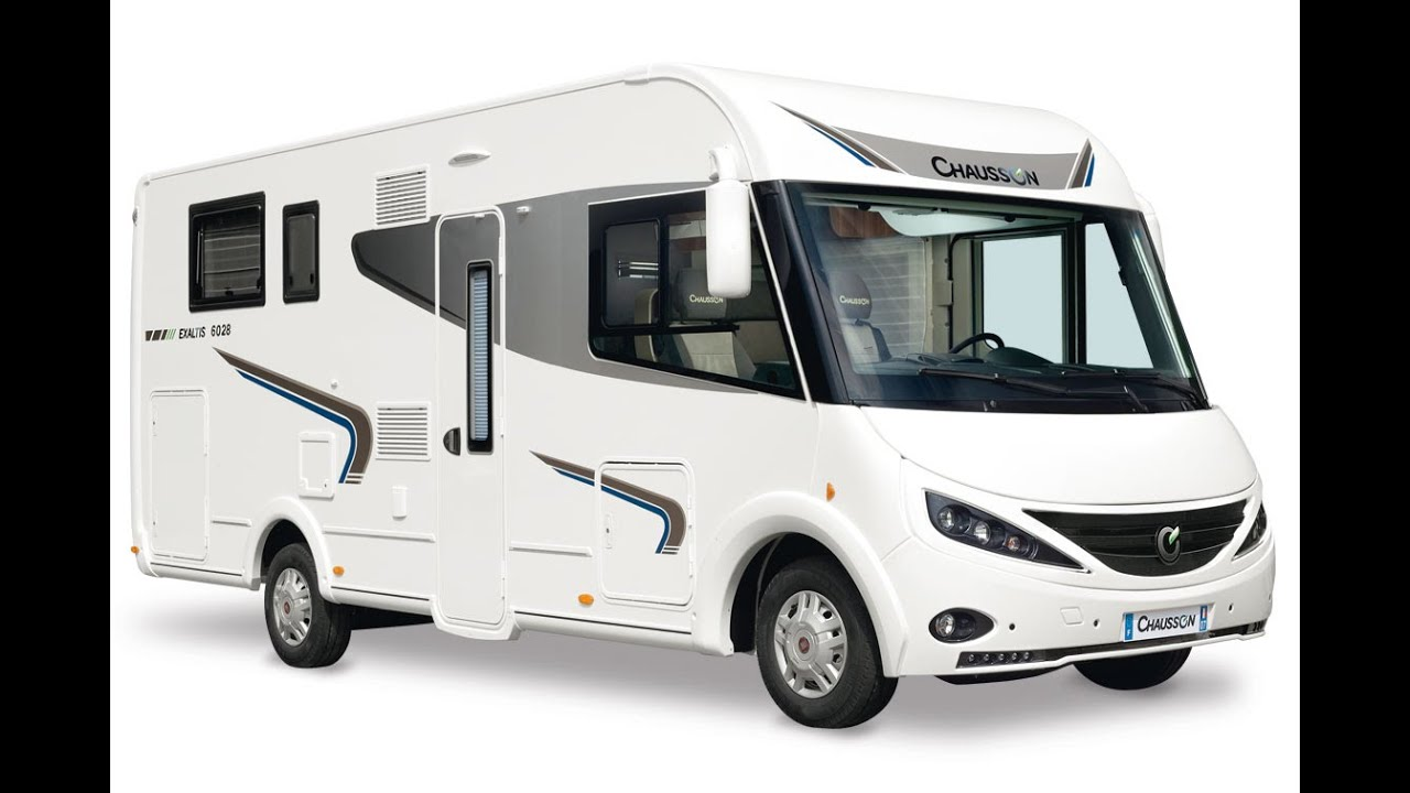 camping car int gral chausson 2015 youtube
