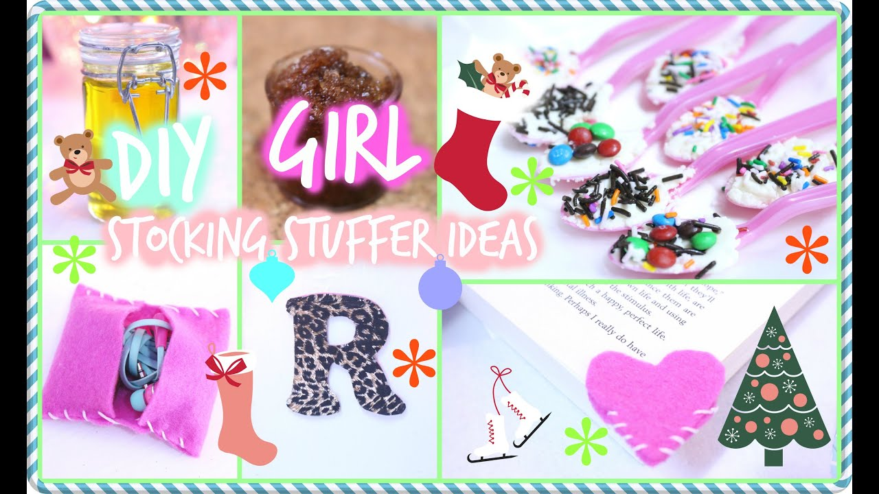 Perfect ❄ DIY Stocking Stuffers For Girls ❄   YouTube