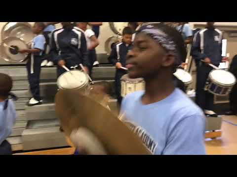 Lafayette Academy Marching Band (Action Cam) | Beat The Leap Battle Of The Band 2019
