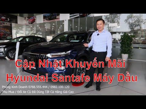 Cập Nhật Khuyến Mãi, Bảng Giá Lăn Bánh Xe Hyundai Santafe 2020 2021 Máy Dầu Mới Nhất Mua Trả Góp
