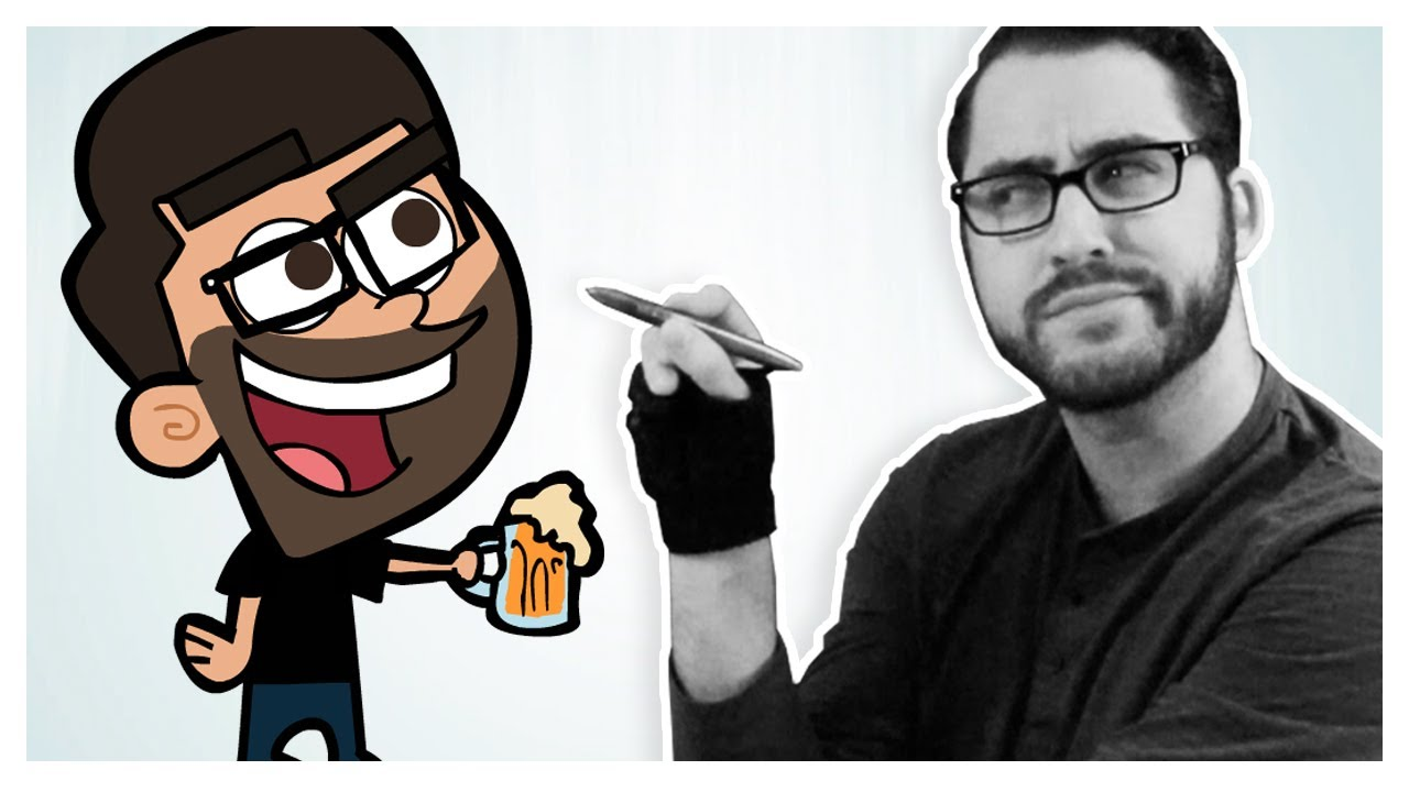 Cartoon Characters Yourself : Drawing myself in animated styles youtube