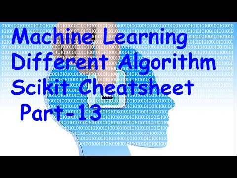 Machine Learning Algorithm Scikit Cheatsheet Tutorial 13