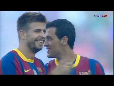 Season 2010/2011. FC Barcelona - AC Milan - 1:1, penalty shoot-out 3:1