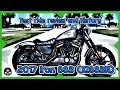 2017 Harley Davidson Iron 883 (XL883N) ride and history