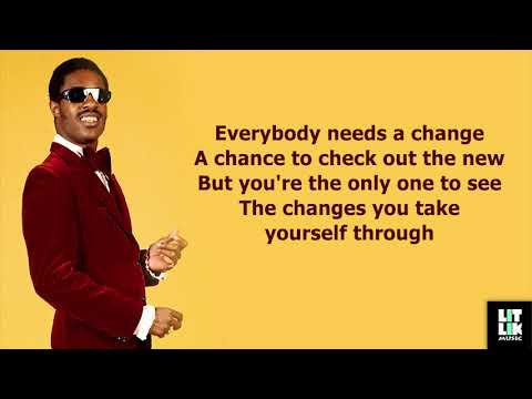 Stevie Wonder - Don't You Worry 'Bout a Thing (Lyrics)