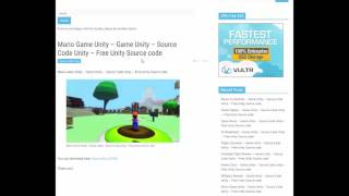 Source code game unity - Free source code unity
