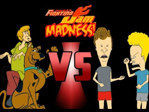 Download Mugen Fighting Jam Madness: Beavis and Butt-Head vs. Shaggy and Scooby Doo