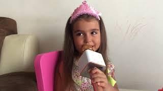 sihirli karaoke bluetooth mikrofon, eğlenceli çocuk videosu