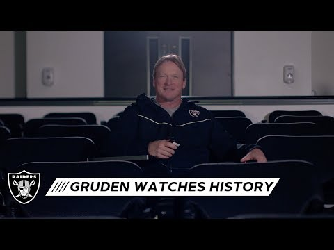 Coach Gruden looks