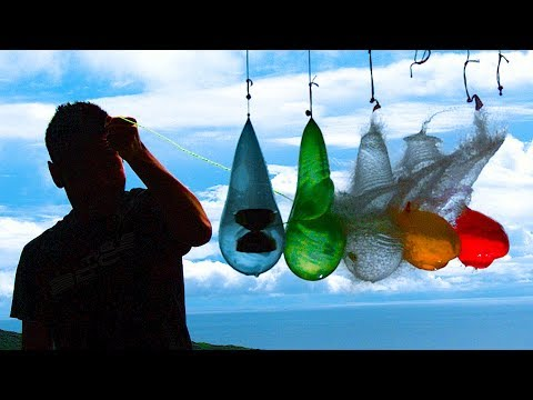 YoYo World Champion vs Water Balloons | 3,200FPS Slow Motion