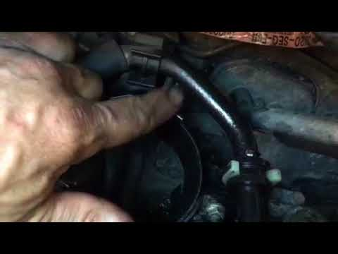 How to change fuel filter on Honda Accord 22 cdti - YouTube
