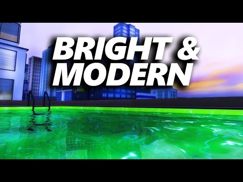 BRIGHT & MODERN PENTHOUSE  [ The Sims 4 Build ]