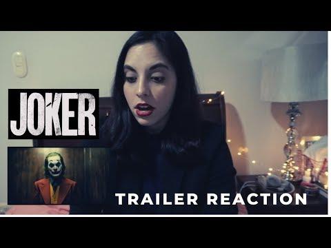 JOKER TEASER TRAILER REACTION!!