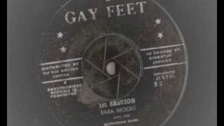 baba brooks -  first session  - gayfeet records - ska