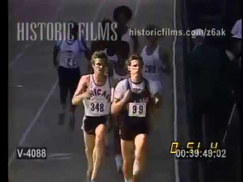 1975 USA 800m Championships featuring world record holder Rick Wohlhuter
