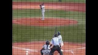 2015年6月14日 武蔵ヒートベアーズ ファウティノ・デロスサントス投手