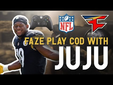 FaZe Play COD with JuJu Smith-Schuster