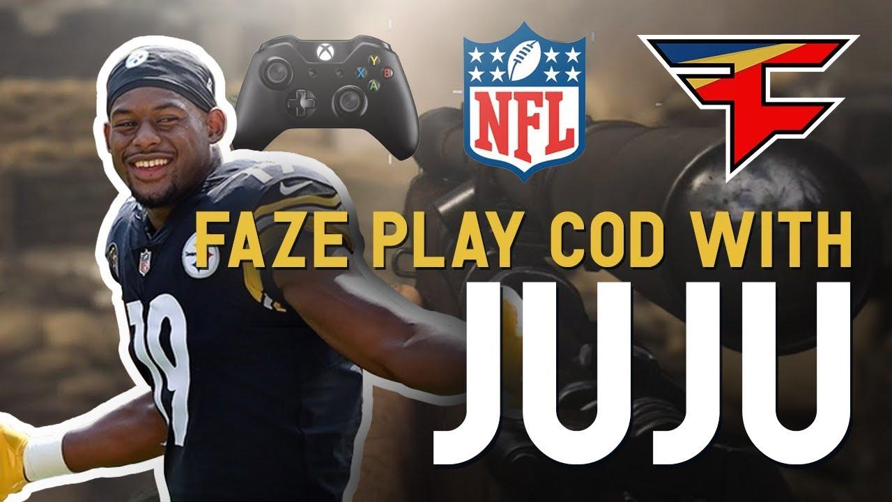 FaZe Play COD With JuJu Smith Schuster YouTube