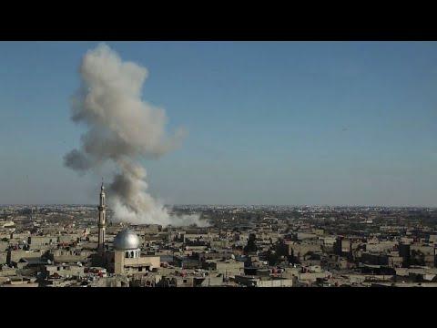 Syria bombardment kills dozens in rebel enclave